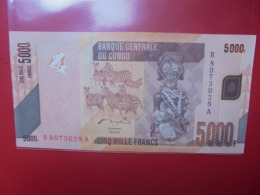 CONGO 5000 FRANCS 2005 PEU CIRCULER/NEUF - Congo