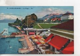 Cpa.74.Evian Les Bains.La Plage.1937 - Evian-les-Bains