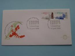 EUROPA CEPT ( Veere / Groningen ) ( NVPH Nr. 274 ) Anno 1990 ( Zie Foto Voor Detail ) ! - FDC