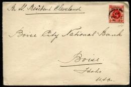 HONG KONG -  N° 120 / LETTRE DE HONG KONG LE 29/11/1927 POUR LES USA - TB - Covers & Documents