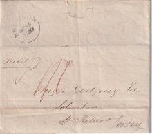 GRANDE-BRETAGNE 1839 LETTRE DE BRIGHTON POUR JERSEY - Great Britain