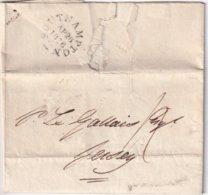 GRANDE-BRETAGNE 1836 LETTRE DE SOUTHAMPTON POUR JERSEY - Great Britain