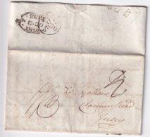 GRANDE-BRETAGNE 1833 LETTRE POUR JERSEY - Great Britain