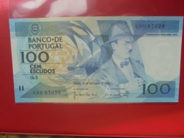 PORTUGAL 100 ESCUDOS 1986 PEU CIRCULER/NEUF - Portugal