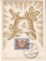 ALLEMAGNE 1943 CARTE DE STETTIN TAG DER BRIEFMARKE - Alemania