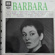 """Barbara  """"  L'homme En Habit  """" - Vinylplaten"""