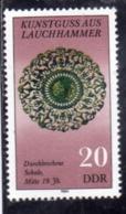 EAST GERMANY DDR DEUTSCHE DEMOKRATISCHE GERMANIA EST 1984 Kunstguss Aus Lauchhammer 20pf MNH - Nuovi