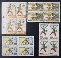 NIGERIA 2003 - ALL AFRICA GAMES ABUJA HIGH LONG JUMP ATHLETICS TAEKWONDO MNH - Nigeria (1961-...)