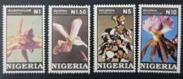 NIGERIA 1993 - ORCHIDS FLOWERS - RARE MNH - Nigeria (1961-...)