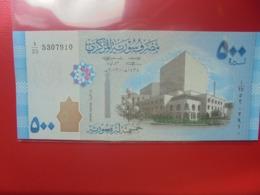 SYRIE 500 POUNDS 2013 PEU CIRCULER/NEUF - Siria