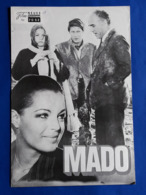 "ROMY SCHNEIDER / MICHEL PICCOLI Im Film ""MADO"" # NFP-Filmprogramm Von 1976 # [19-1138] - Films & TV"