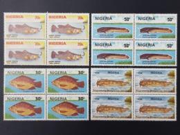 NIGERIA 1991 - FISHES FISH FISHERIES POISSONS POISSON - RARE MNH - Nigeria (1961-...)