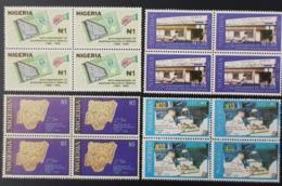 NIGERIA 1994 - 25 TH ANNIVERSARY NIGERIAN PHILATELIC SERVICE STAMPS ON- RARE MNH - Nigeria (1961-...)
