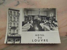 """BRUXELLES: Hotel """"Du Louvre"""" 16, Rue De L'Argonne (lichte Kreuken) - Cafés, Hotels, Restaurants"""