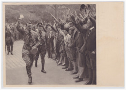 Dt.-Reich (000052) Propaganda Sammelbild, Deutschland Erwacht, Bild 38, Vierter Parteitag In Nürnberg 1929 - Deutschland