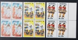 NIGERIA 1992 - TRADITIONAL DANSES DANCES DANCINING DANCE - SHORT SET RARE MNH - Nigeria (1961-...)