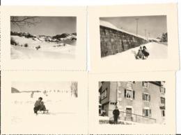 Lot De 7 Photos - Septmoncel - Jura - 39 - Photo Originale Des Années 60 - Lieux