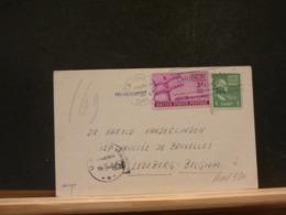 A10/790  CP  USA TO BELG. US CENSOR  1945 - Brieven En Documenten