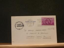 A10/792  CP  USA TO BELG. US CENSOR  1945 - Brieven En Documenten