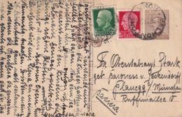 ITALIE 1929   ENTIER POSTAL/GANZSACHE/POSTAL STATIONERY CARTE DE VALMONTONE - Entiers Postaux