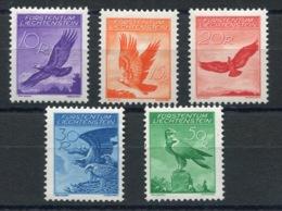 RC 13880 LIECHTENSTEIN PA N° 9 / 13 POSTE AERIENNE OISEAUX RAPACES COTE 110€ NEUF * - Poste Aérienne