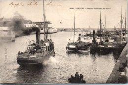 56 LORIENT - Départ Du Bateau De Groix - Lorient