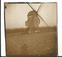 Photo  Ancienne -  Moulin à Vent - Lieu à Identifier - Début XXème - Lieux