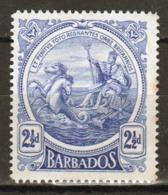 Barbados 1916 George V Single 2½d Stamp From The Definitive Set. - Barbados (...-1966)