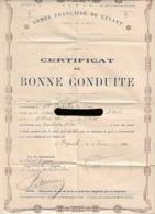 Armée Française Du Levant, Bataillon Sapeur Télégraphiste  S/T 52,  Beyrouth, 1923, Toupes Du Grand Liban, - Documents Historiques