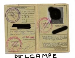 """Histoire Postale Récente, 1948, Cachet """"poste Aux Armées Direction Générale"""" + Le Même """" Inspecteur Général"""" - Vieux Papiers"""