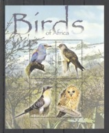 W600 LESOTHO FAUNA BIRDS OF AFRICA 1KB MNH - Other