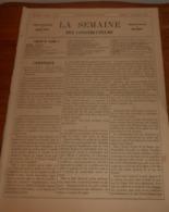 La Semaine Des Constructeurs. N°9. 1er Septembre 1877. Hôtel De Sarah Bernhardt. Drainage Des Maisons Par Les Arbres. - Livres, BD, Revues