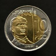 Philippines 10 Piso 2013. 150 Years Andres Bonifacio. Km285 UNC Bimetallic Coin - Philippines