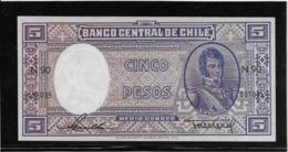 Chili - 5 Pesos - Pick N°119 - NEUF - Chili