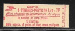 FRANCE  ( FRCUC -  34 )  N° YVERT ET TELLIER  N° 2102 C1   N** - Carnets