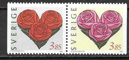 Suède 1997 1964/1965 Neufs Saint Valentin - Sweden