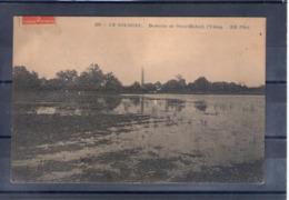 41. En Sologne, Domaine De Saint Hubert. L'étang - France