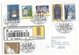 22381 - Christkindl 01.01.2006  Pour Chur Einschreiben - Noël