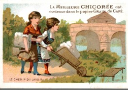 CHOCOLAT DUROYON RAMETTE   LE CHEMIN DU LAVOIR - Duroyon & Ramette