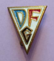 Épinglette Multicolore - Allemagne De L'Est - Deutsche Forschungsgemeinschaft - DFG - Duitsland