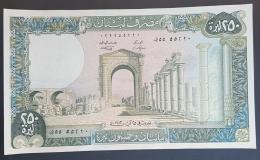 HX - Lebanon 1983 250 Livres, A-UNC - Libanon