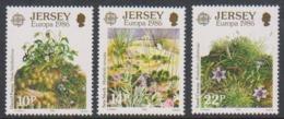 Europa Cept 1986 Jersey 3v  ** Mnh (44829) - 1986