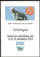 La Louvière  Catalogue émis Pour Les 150 Ans De La Ville - Sellos
