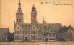 Diksmuide  Diksmude  Kerk En Stadhuis       L 1221 - Diksmuide