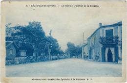 47   Reaup Le Bourg Et L'avenue De La Tenares - Autres Communes