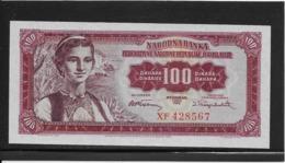 Yougoslavie - 100 Dinara - Pick N°69 - NEUF - Jugoslavia
