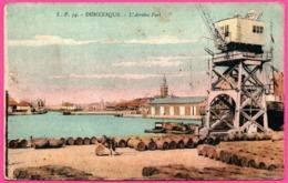 Dunkerque - L'Arrière Port - Animée - Fût En Bois - Edit. LUCIEN POLLET - 1945 - Colorisée - Dunkerque