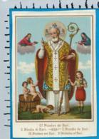 Holycard    St.   Nicolas V. Bari - Santini