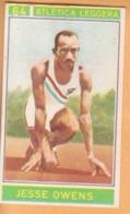 N. 64 VALIDA Jesse Owens - Atletica Leggera - Campioni Dello Sport Panini 1967-68 - Panini