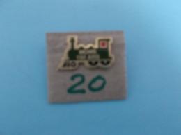 "PIN'S - MONS -  ""150 Ans   Mons ""  Locomotives - Voir Photo ( 20) - Steden"